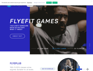 flyefit.ie screenshot