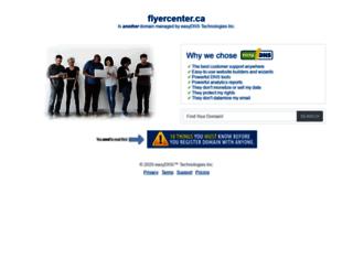 flyercenter.ca screenshot