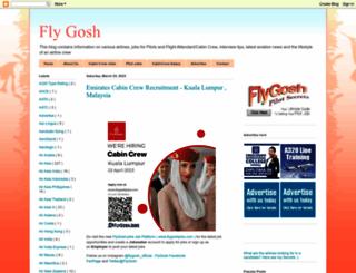flygosh.blogspot.in screenshot