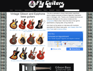 flyguitars.com screenshot