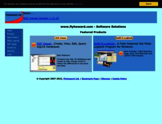 flyhoward.com screenshot