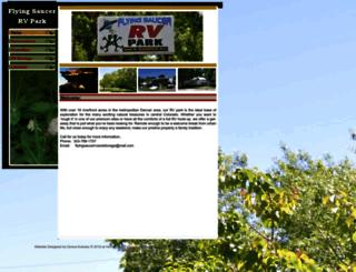 flyingsaucerrvpark.com screenshot