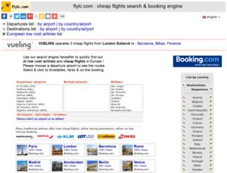 flylc.com screenshot