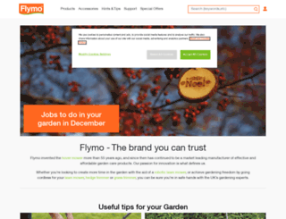 flymo.com screenshot