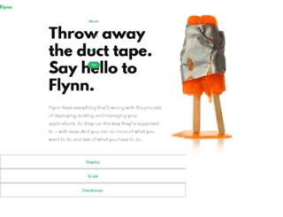 flynn.cupcake.io screenshot