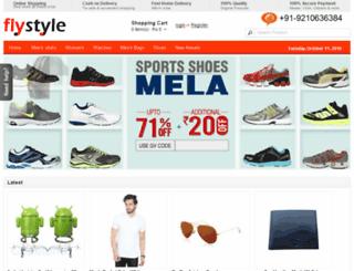 flystyle.in screenshot