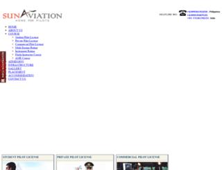 flysunaviation.com screenshot