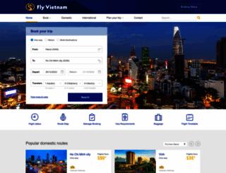 flyvietnam.com screenshot