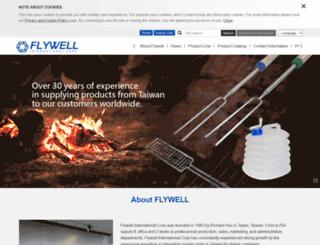 flywell.com.tw screenshot