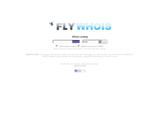 flywhois.com screenshot