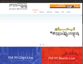 fm99gb.com screenshot