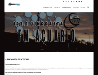 fmacuario.com.ar screenshot