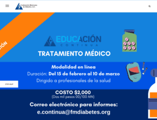 fmdiabetes.org screenshot