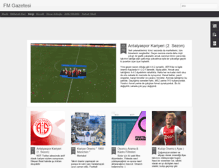 fmgazetesi.blogspot.com.tr screenshot