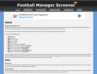 fmscreener.com screenshot