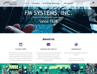 fmsystems-inc.com screenshot