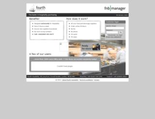 fnbmanager.com screenshot