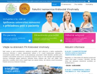 fnkv.cz screenshot