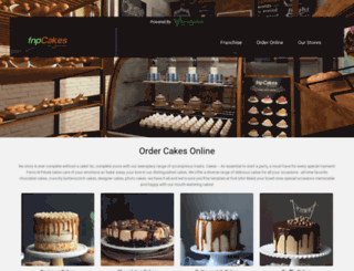 fnpcakes.com screenshot