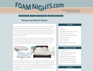 foamnights.com screenshot