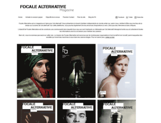 focale-alternative.be screenshot