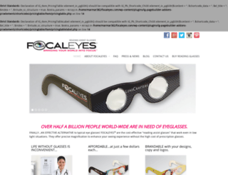 focaleyes.com screenshot
