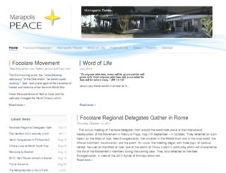 focolare.org.ph screenshot