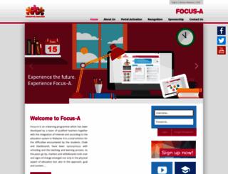 focusa.com.my screenshot