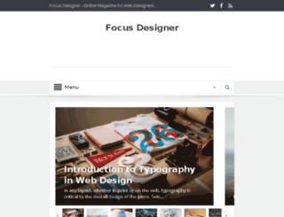 focusdesigner.com screenshot
