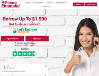 focusfinancialcorp.com screenshot
