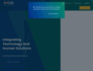 focusinfotech.com screenshot