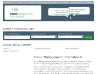 focusmanagementinternational.com screenshot