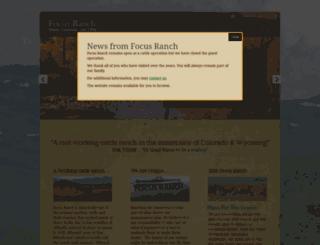 focusranch.com screenshot