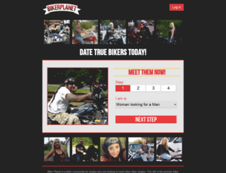 fofprofile.bikerplanet.com screenshot
