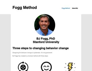 foggmethod.com screenshot