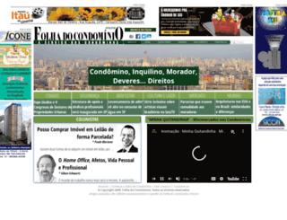folhadocondominio.com.br screenshot