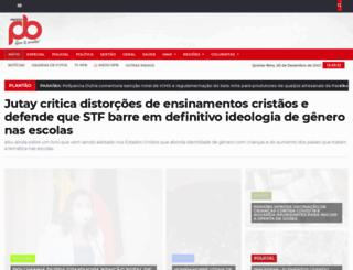 folhadosertao.com.br screenshot