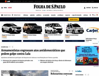 folhainvest.folha.uol.com.br screenshot