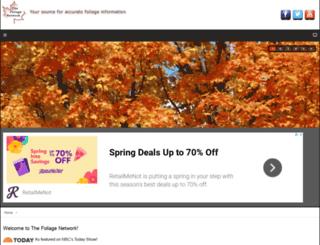 foliagenetwork.com screenshot