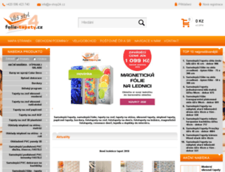 folie-tapety.cz screenshot