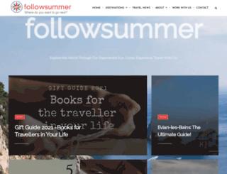 followsummer.net screenshot