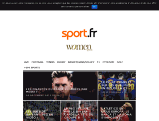 folomi.sport.fr screenshot