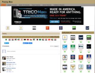 fomnybox.com screenshot