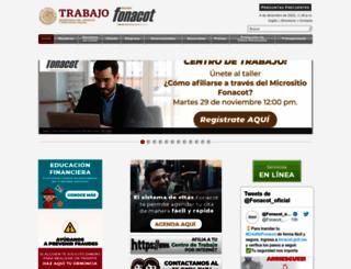 fonacot.gob.mx screenshot