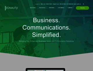 fonality.com.au screenshot