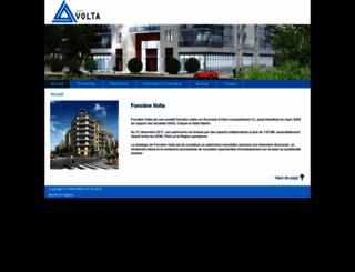 foncierevolta.com screenshot