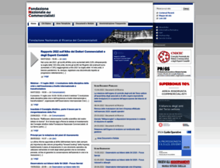 fondazionenazionalecommercialisti.it screenshot