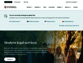 fondia.com screenshot