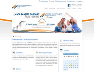 fondoempleadosaccionplus.com screenshot