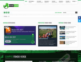 fondoverde.org screenshot